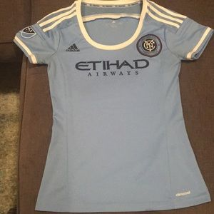 adidas Tops - NYCFC women's jersey in size small